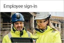 Employee sign-in